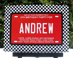 race car birthday party printables party decorations