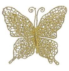 plastic glitter butterfly ornament set of 3 8 70 butterflies