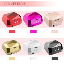 1006long life 36w nail lamp uv lamp diamond shaped curing nail