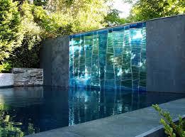 sculptural glass and glass rock garden for artistic landscape