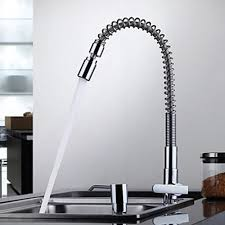 one handle kitchen faucet contemporary chrome one single handle kitchen faucet