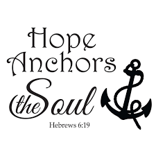 Love Anchors The Soul Hebrews - anchors the soul hebrews 6 19 wall decal divine walls
