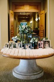 Halloween Wedding Table Decorations Best 25 Wedding Photo Table Ideas On Pinterest Engagement Party
