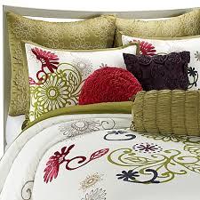 Bedding Bed Bath And Beyond Hayley Mini Comforter Set 100 Cotton Bed Bath U0026 Beyond