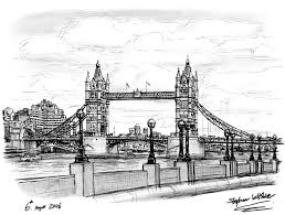 tower bridge 2006 original drawings prints and limited editions