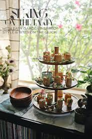 indoor garden party with arugula pesto caprese wraps dine x design