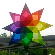 Origami Home Decor by Art With Mrs Nguyen August Radial Origami Suncatchers 5th Idolza