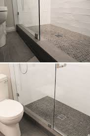 grey shower tile ideas light gray floor bathroom colors about