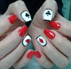 nail art cute nail art red acrylic designs ideas design trends