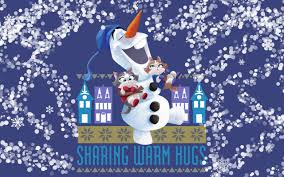 olaf s frozen adventure new wallpapers for winter holidays