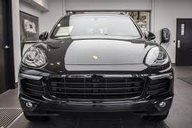porsche front view featured vehicle certified pre owned 2017 porsche cayenne