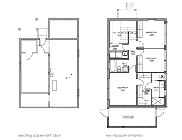 basement under garage plans sf ranch house plan w s loversiq
