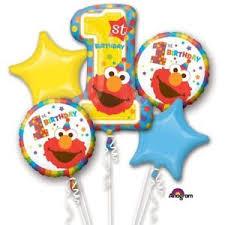 1st birthday party supplies new sesame elmo 1st birthday party supplies 5pc bouquet