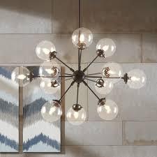 lighting 12 light sputnik chandelier for modern living room decor