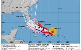 Nuclear Power Plants In Florida Map by Hurricane Irma Storm Kills 8 In Caribbean As It Continues Florida
