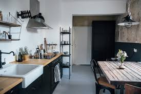 Country Kitchen Photos - kitchen of the week a diy ikea country kitchen for two berlin