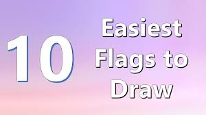 African Flags And Their Countries Top 10 Easiest Flags To Draw Youtube
