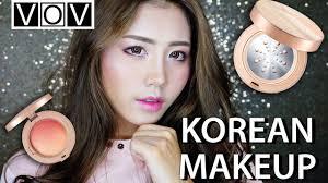 review tutorial makeup sehari hari korean makeup tutorial vov mineral illuminated review bahasa