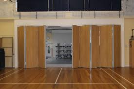 sliding folding partition sliding wall installed utilizing space