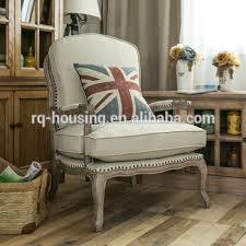 Upholstered Armchairs Living Room Soft Comfortable Fabric Styles Wooden Chairs Upholstery Armchair