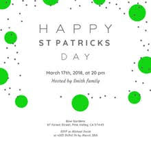 free printable st patrick u0027s day invitation templates greetings