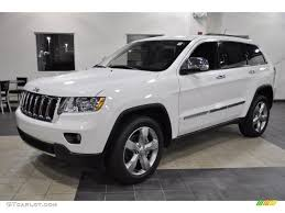 2011 jeep grand white 2011 white jeep grand limited 44735517 gtcarlot