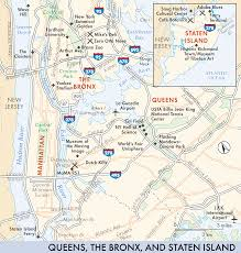 Queens Ny Map New York Map Queens Travel Map Vacations Travelsfinders Com