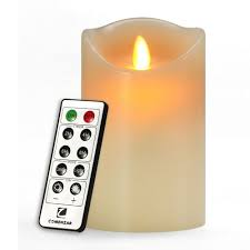 flameless candle battery operated candle 5 inch