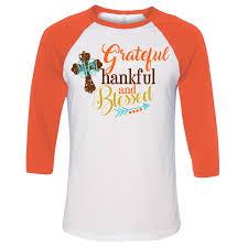 monogrammed thanksgiving shirt for
