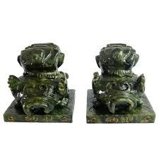 pixiu statue pi xiu in green jade my feng shui store