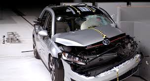 watch the new golf gti crash its way to iihs top safety pick plus