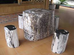 petrified wood tables petrified wood table table with beautiful