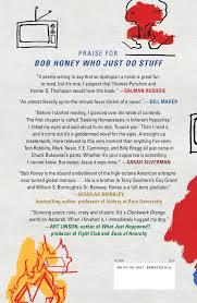 s stuff bob honey who just do stuff a novel penn 9781501189043