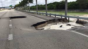 Florida Turnpike Map by Sinkholes On Turnpike Cause Massive Traffic Delays