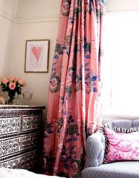 i love these colorful girly curtains they just might be perfect