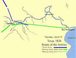 Buffalo Bayou Park Map Home The Battle Of San Jacinto