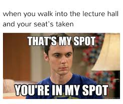 that s my spot college memes
