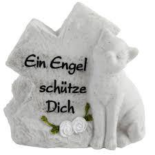 trauersprüche katze grabschmuck gedenkstein für katzengräber
