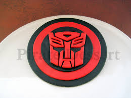 transformers cupcake toppers transformer cake toppers candy edible robot fondant cake topper autobot logo inspired