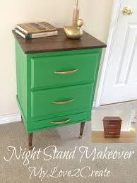 night stand makeover my repurposed life