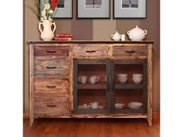 International Furniture Direct  Antique Multicolor Buffet With - Artisan home furniture