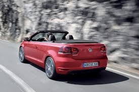 red volkswagen convertible volkswagen golf is now available in convertible model image 5