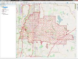 State Plane Coordinate System Map by Optimize Online Geocoding Arcuser