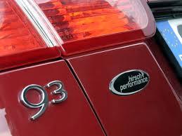 saab convertible red hirsch performance saab 9 3 convertible aero photos photogallery