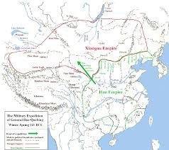 Map Of China Rivers by The Xiongnu 350 Bce 460 Ce