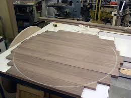 table top glue up design and build process glisson woodworks