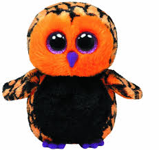 amazon com ty beanie boos haunt the owl toys u0026 games only