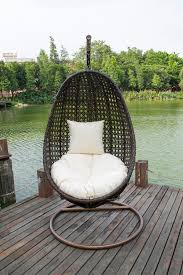 Rattan Swinging Chair Tanfly New Pe Rattan Hanging Swing Chair Release