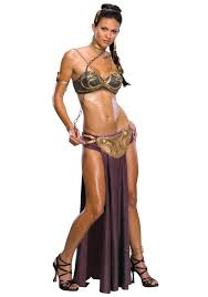 princess costumes for halloween princess leia slave costume
