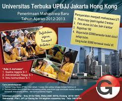 pendaftaran tutorial online ut gitc membuka pendaftaran mahasiswa baru ut universitas